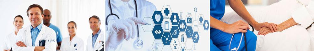 Equipe médica e enfermagem